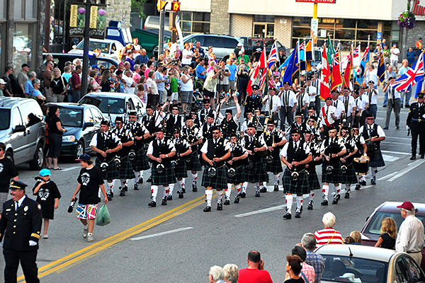 Fergus Scottish Festival and Highland Games in Canada