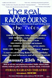 The Real Rabbie Burns - The Celts