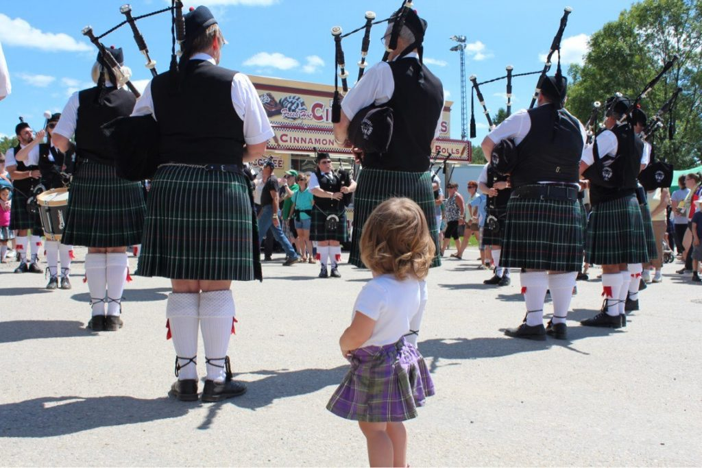 Family Events - Fergus Scottish Festival