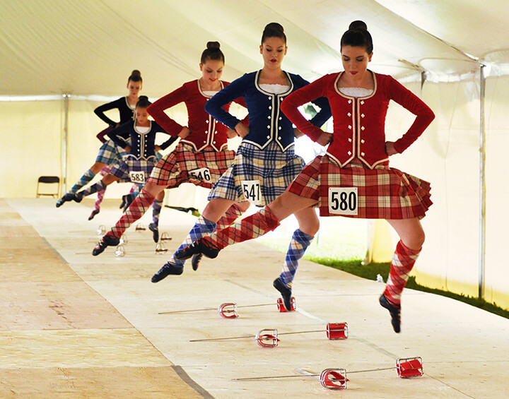 Highland Dance Competitions! - Fergus Scottish Festival