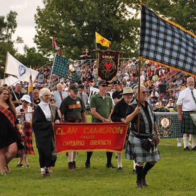 Clan Parade!- Fergus Scottish Festival