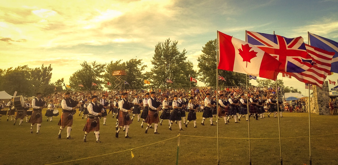 Pipe and Drums Competition | Fergus Scottish Festival Canada