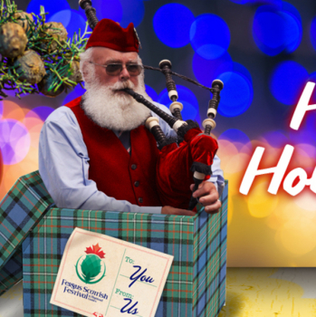 Fergus Scottish Festival Tickets Make The Best Gift!