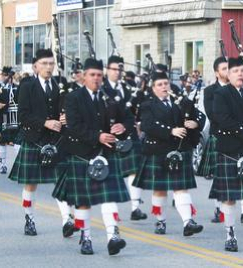 Pipes, Plaid, and Pageantry Parade