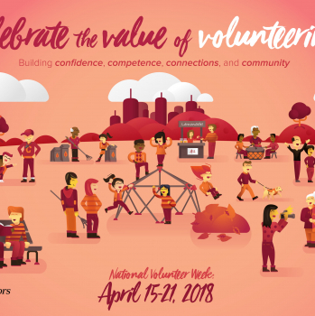 National Volunteer Week 2018…