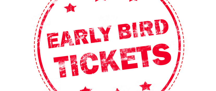 2017 Early Bird Ticket Pricing Available Now!